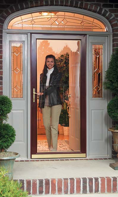 Exterior doors milton home hardware building centre for Front entrance storm doors