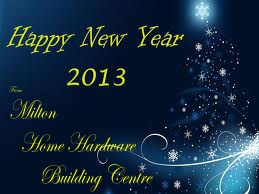 Happy New Year From Milton Home Hardware